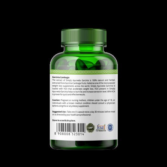 Garcinia Cambogia Extract 800Mg, 60 Capsules