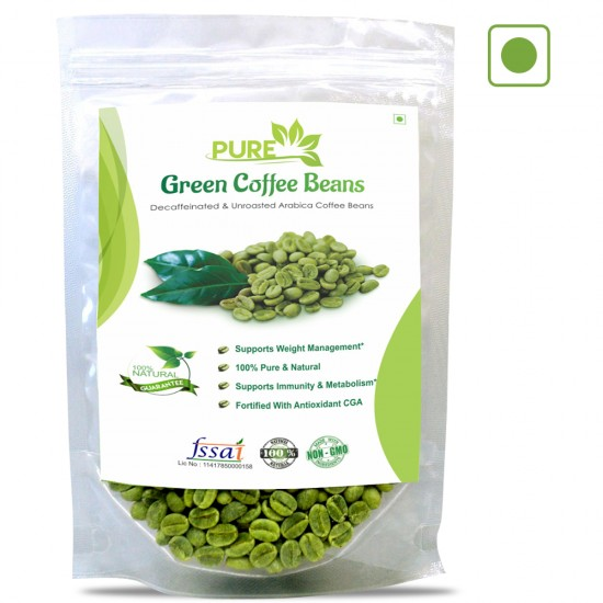 Pure Green Coffee Beans, 200Gms